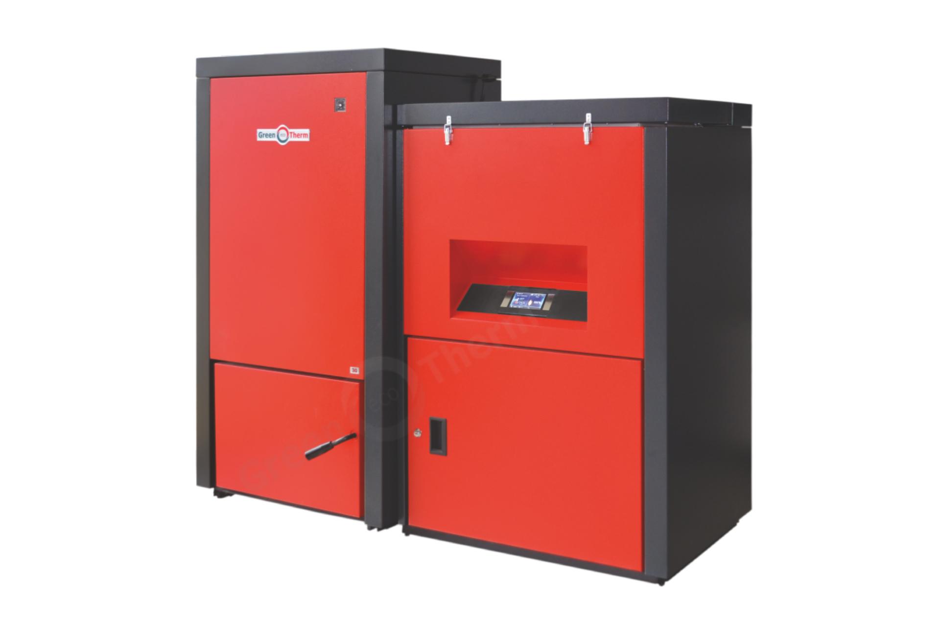 Автоматизираните пелетни котли Pelletherm V.2 са предназначени за отопление на битови и фирмени обекти, както и за подгряване на битова гореща вода през летния сезон. Основното предимство и уникалност на този продукт е възможността да изгаря пелети с диаметър от Ø 6 mm до Ø 14 mm с различно качество, както и плодови костилки. Характеризират се с изключително висока ефективност и надеждност.