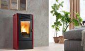 GreenEco Therm™ Топловъздушна пелетна камина DALIA