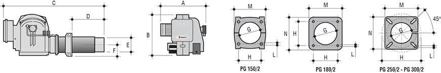 Lamborghini PG Двустепенни Technical date 2