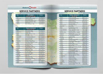 Service Partners brochure 2018