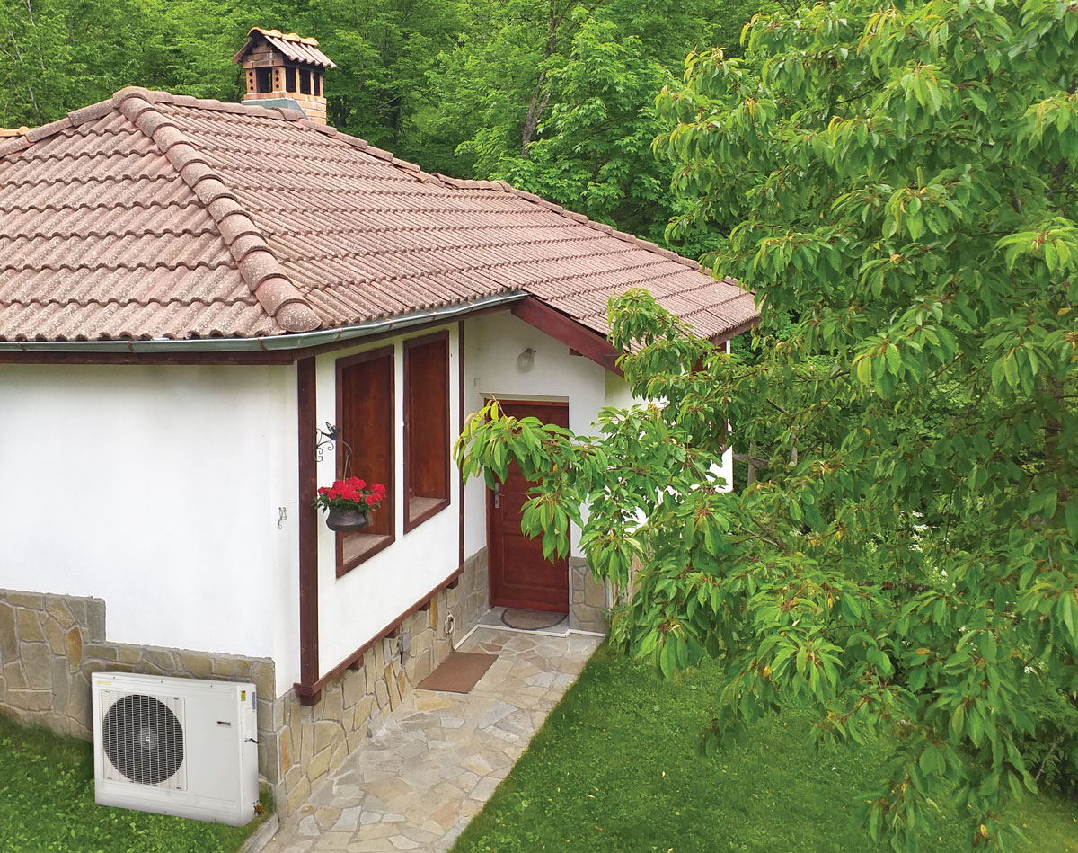 House-Heat pump-Sundez